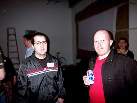 Tom and Donovan