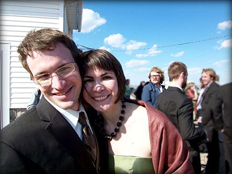 Nate and Megan