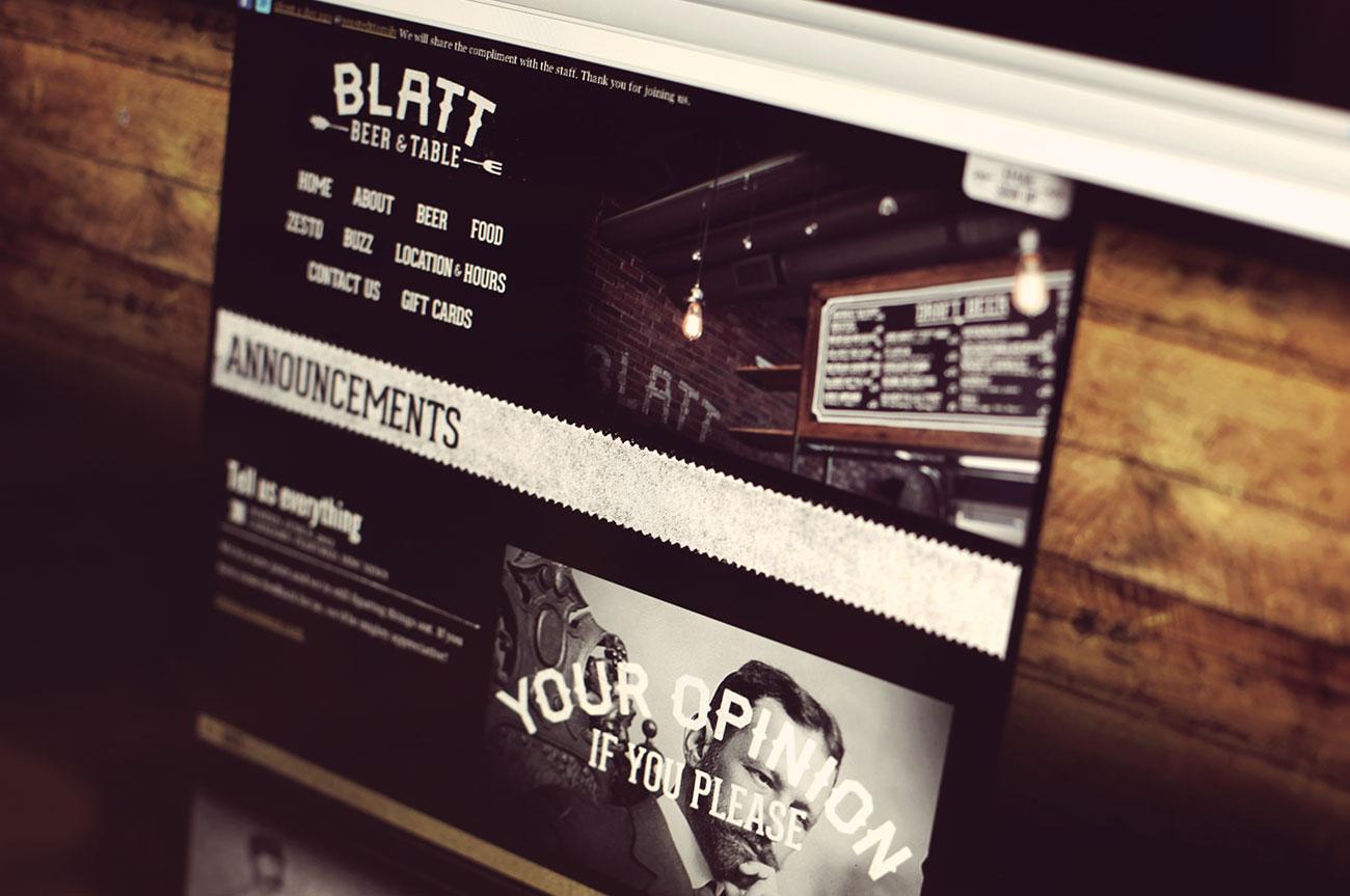 blatt-website